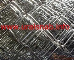 Сетка стальная плетеная без покрытия 5 ГОСТ 5336-80 диаметр проволоки 1,2 мм